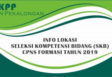 Lokasi Seleksi Kompetensi Bidang (SKB) CPNS 2019